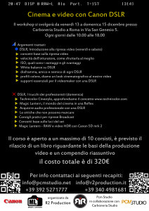 Volantino workshop