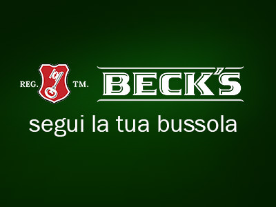 Beck's Celebrates your goals