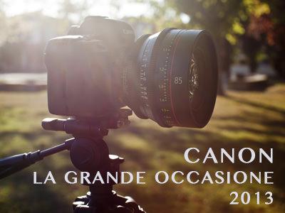Canon la grande occasione 2013