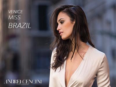 Miss Brazil 2015 in Italy #veniceinlove